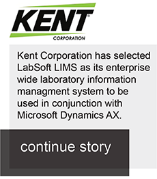 Kent Corporation chooses LabSoft LIMS
