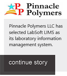 Pinnacle Polymers LLC chooses LabSoft LIMS