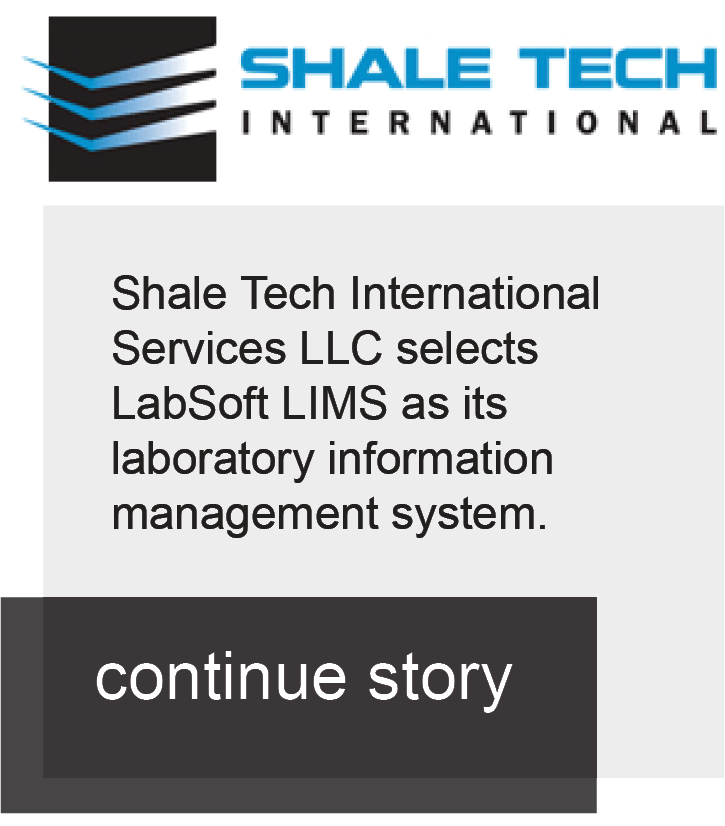 Shale chooses LabSoft LIMS