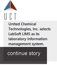 United Chemical Technologies chooses LabSoft LIMS